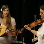 Garamvölgyi Anett kobozművész koncertje moldvai csángómagyar dallamokkal Budapesten a Művészetek Palotájában (2014. október 29.)