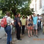 Látogatás a Temesvári Gerhardiumban (2015. június 8.)