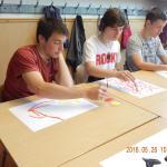 Művészeti nevelés óra - Versre festés (2016. május 26.)